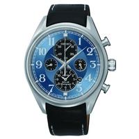 Buy Seiko Gents Solar Chronograph Watch SSC209P9 online
