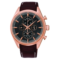 Buy Seiko Gents Solar Chronograph Watch SSC212P1 online