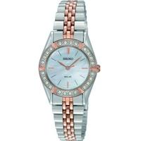 Buy Seiko Ladies Crystal Set Bezel Watch SUP112P9 online