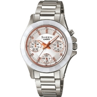 Buy Casio Ladies Sheen Watch SHE-3503SG-7AER online