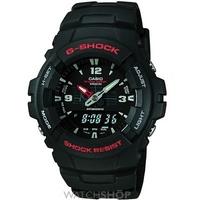 Buy Mens Casio G-Shock Alarm Chronograph Watch G-100-1BVMUR online