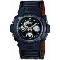 Buy Mens Casio G-Shock Alarm Chronograph Watch AW-591MS-3AER online