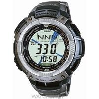 Buy Mens Casio Pro Trek Titanium Alarm Chronograph Watch PRG-80T-7VER online