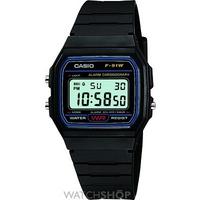 Buy Unisex Casio Classic Alarm Chronograph Watch F-91W-1XY online