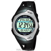 Buy Mens Casio Phys Sports Alarm Chronograph Watch STR-300C-1VER online