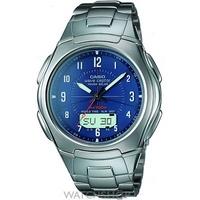 Buy Mens Casio Wave Ceptor Alarm Chronograph Radio Controlled Watch WVA-430DU-2A2VER online