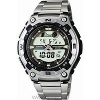 Buy Mens Casio Sports Alarm Chronograph Watch AQW-100D-1AVEF online