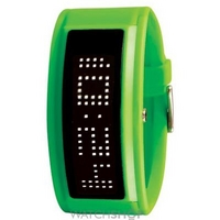 Buy Unisex Black Dice Guru White LED Watch BD-044-10 online