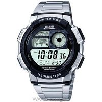 Buy Mens Casio World Timer Alarm Chronograph Watch AE-1000WD-1AVEF online