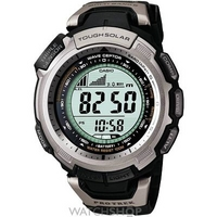 Buy Mens Casio Pro Trek Alarm Chronograph Radio Controlled Watch PRW-1300-1VER online