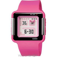 Buy Ladies Casio Poptone Alarm Chronograph Watch LCF-20-4DR online