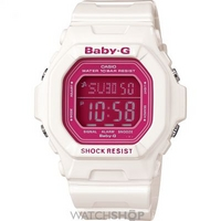 Buy Ladies Casio Baby-G Candy Alarm Chronograph Watch BG-5601-7ER online