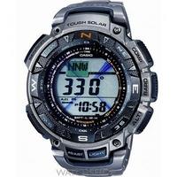 Buy Mens Casio Pro Trek Titanium Alarm Chronograph Watch PRG-240T-7ER online