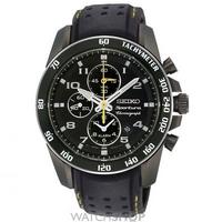 Buy Mens Seiko Sportura Alarm Chronograph Watch SNAE67P1 online