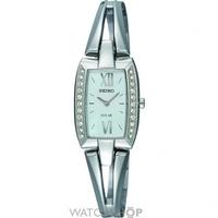 Buy Ladies Seiko Crystal Solar Powered Watch SUP083P9 online