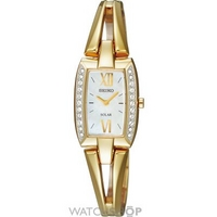 Buy Ladies Seiko Crystal Solar Powered Watch SUP086P9 online