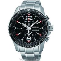 Buy Mens Seiko Sportura Aviation Alarm Chronograph Watch SNAE95P1 online