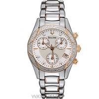 Buy Ladies Bulova Chronograph Diamond Watch 98R149 online