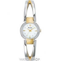 Buy Ladies Bulova Crystal Watch 98V08 online