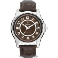 Buy Mens Bulova Precisionist Claremont Watch 96B128 online
