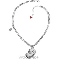 Buy Ladies Guess Stainless Steel Necklace UBN80917 online