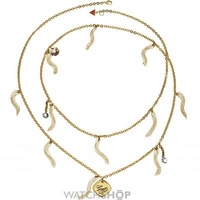 Buy Ladies Guess PVD Gold plated Necklace UBN21223 online