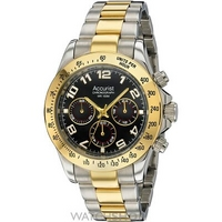 Buy Mens Accurist Chronograph Watch MB981B online