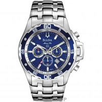 Buy Mens Bulova Marine Star Chronograph Watch 98B163 online