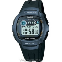 Buy Mens Casio Classic Alarm Chronograph Watch W-210-1BVES online