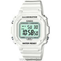 Buy Mens Casio Alarm Chronograph Watch F-108WHC-7BEF online