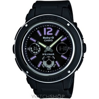 Buy Ladies Casio Baby-G Alarm Chronograph Watch BGA-150-1BER online