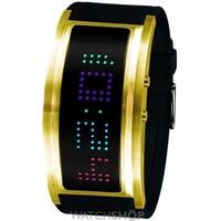 Buy Unisex Black Dice The Guru LED Watch BD-060-03 online