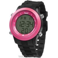 Buy Unisex Breo Orb Black Pink Alarm Chronograph Watch B-TI-ORB73 online