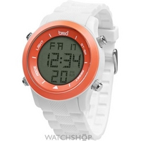Buy Unisex Breo Orb White Orange Alarm Chronograph Watch B-TI-ORB81 online