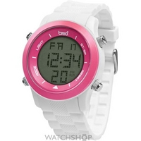 Buy Unisex Breo Orb White Pink Alarm Chronograph Watch B-TI-ORB83 online
