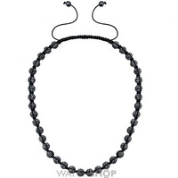 Buy Shimla Stainless Steel Luxury Originals Black Necklace SH-019 online