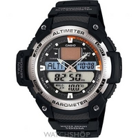 Buy Mens Casio Sports Gear Alarm Chronograph Watch SGW-400H-1BVER online