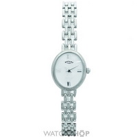 Buy Ladies Rotary Silver Watch LB20161-07 online