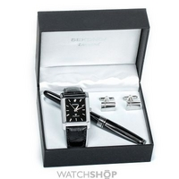Buy Mens Sekonda Pen Gift Set Diamond Watch 3904G online