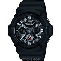 Buy Mens Casio G-Shock Alarm Chronograph Watch GA-201-1AER online