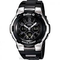 Buy Ladies Casio Baby-G Alarm Chronograph Watch BGA-110-1B2ER online