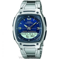 Buy Mens Casio Alarm Chronograph Watch AW-81D-2AVES online