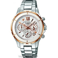Buy Ladies Casio Sheen Chronograph Watch SHE-5512SG-7ADF online