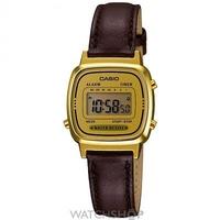 Buy Ladies Casio Classic Alarm Chronograph Watch LA670WEGL-9EF online