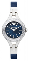 Buy Emporio Armani Classic Ladies Crystal Set Watch - AR7330 online