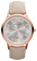 Buy Emporio Armani Renato Ladies Rose Gold IP Watch - AR2466 online