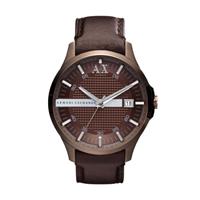 Buy Armani Exchange Hampton Mens Leather Watch - AX2123 online