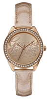 Buy Guess Little Party Girl Ladies Stone Set Watch - W0161L1 online