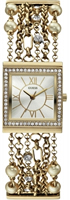 Buy Guess Silk Ladies Gold-plated Watch - W0140L2 online