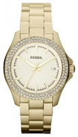 Buy Fossil Retro Traveller Ladies Gold-plated Watch - AM4453 online